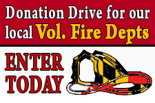Donation Drive for Local FireFighters